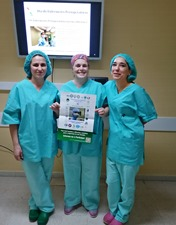 Enfermeiros do HSA dão formação aos utentes sobre segurança cirúrgica