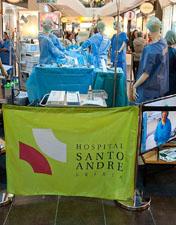 Enfermeiros do HSA recriam bloco operatório no Leiriashopping