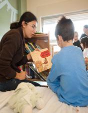 """""""Conta-nos Histórias"""" é a nova atividade semanal na Pediatria do HSA"""