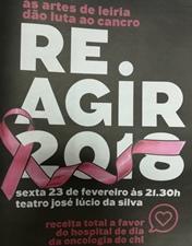 Reagir 2018 - As artes de Leiria dão luta ao cancro