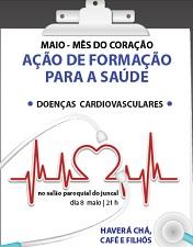 """João Morais fala no Juncal sobre as """"Doenças cardiovasculares em tempo de crise"""""""