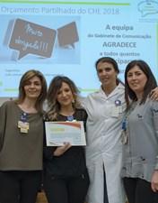 Colaboradores do CHL escolhem projeto de ginásio como vencedor do Orçamento Partilhado