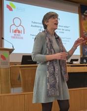 Coordenadora do Programa Nacional da Tuberculose dinamiza sessão clínica no CHL